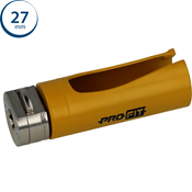 Immagine di seghe tazza click&drill hm mm. 27 multipurpose wood&stone