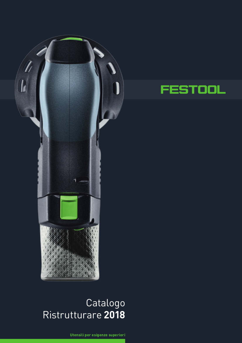 Catalogo Paint Festool